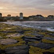 Belmar Bridge Sunset - Foto Stock