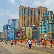 Stock Photo: Boardwalk Atlantic City