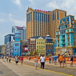 The Boardwalk Atlantic City — Stock Photo