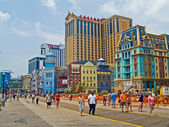 The Boardwalk Atlantic City — 图库照片