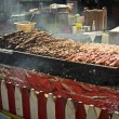 Stock Photo: Shish Kebab Cart