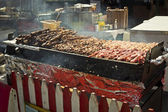 Shish Kebab Cart — Stock Photo