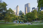 City View Central Park — Stock Photo