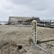 Sandy Ocean Ave Belmar — Foto Stock