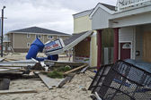Sandy Belmar Destruction — Stock Photo