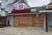 Sandy Pizza Belmar — Stock Photo