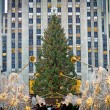 Stock Photo: Rockefeller Christmas Tree 2012