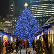 Stock Photo: Christmas Shopping Bryant Park
