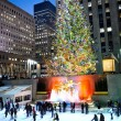 Постер, плакат: Rockefeller Center Tree at Night 2012