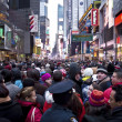 New Years Eve Times Square — Stock Photo