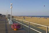 海沿いの遊歩道エイボン — ストック写真