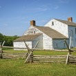 Colonial Home Monmouth Battlefield — Stock Photo
