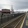 Bound Brook Station — Stock Photo