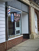 Elk's Barber Shop — 图库照片