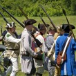Stock Photo: Monmouth Battle Scene 25