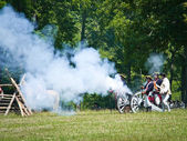 Monmouth Battle Scene 14 — Stock Photo