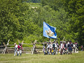 Monmouth Battle Scene 19 — Stock Photo