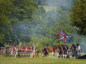 Monmouth Battle Scene 27 — Stock Photo