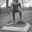 Stock Photo: Thomas Paine Statue BW