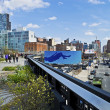 The High Line Tenth Ave — Stock Photo