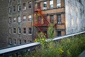 High Line Apartments — Stock Photo