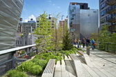 High Line Stroll — Stock Photo