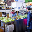 China Town Produce Stand — Stock Photo
