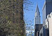 Chrysler building zobrazení — Stock fotografie
