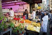 Mercado de la ciudad china — Foto de Stock