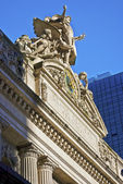 Grand Central Sculpture — Stock Photo