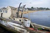 Velho barco provincetown — Foto Stock