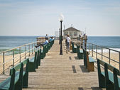 Ocean Grove Pier — Stock Photo