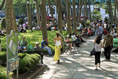 Relaxing Bryant Park — Stock Photo