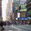 Stock Photo: Hustle Bustle Manhattan