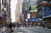 Hustle Bustle Manhattan — Stock Photo