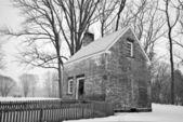 Winter Building Allaire — Stock Photo