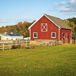 Autumn Barn — Stock Photo