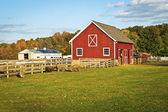 Autumn Barn — Stock Photo
