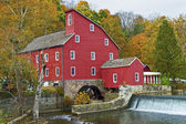 The Historic REd Mill — Stock Photo