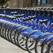 Citi Bikes Manhattan — Stock Photo
