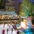 Постер, плакат: Ice Skating Rockefeller Center