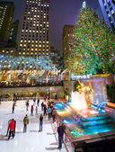 Ice Skating Rockefeller Center — Stock Photo