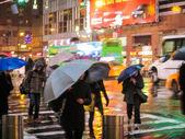 Deszczowy dzień rozmycie streszczenie — Zdjęcie stockowe