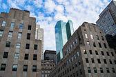 Velha e nova york — Foto Stock