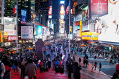 Night Lights Times Square — Stock Photo
