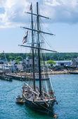 Tall Ship Martha's Vineyard — Stock Photo