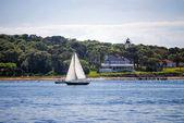 Sailing off Cape Cod — Stock Photo