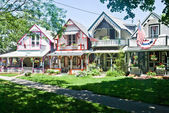 Oak Bluff Cottages — Stock Photo
