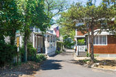 Oak Bluffs Street — Stock Photo