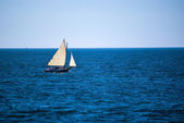 Sailing Ocean Blue — Stock Photo